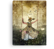 MOOOoood swing Canvas Print