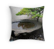 Stone Basin Zen Throw Pillow