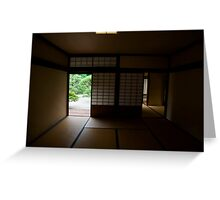 Kikugetsu-tei Tea House Greeting Card