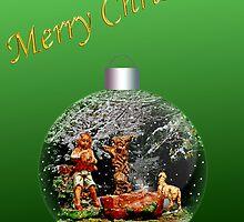 Shepherd 1 Christmas Card by MaluC