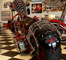OCC 'Black Widow' Bike by Mark Kopczewski