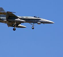 F18 Hornet by Aussiebluey