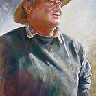 Portrait of Alan Coulson by Lynda Robinson