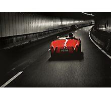 Red Triumph Photographic Print