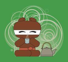 Bear-Ninja Tea Time by shiro