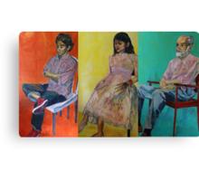 omar, ahn-thu and dr. weiss Canvas Print