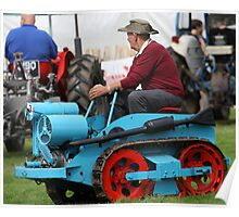 Ransomes MG2 Crawler Tractor (1946) Poster