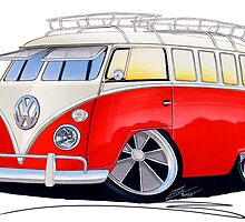 Volkswagen Splitty by Richard Yeomans