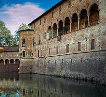 Italian Castle - San Vitale Castle of  Fontanellato by paolo1955