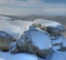 Icy Rocks by David Allen