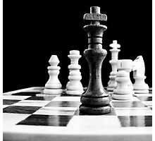 Chess 2 Photographic Print