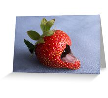 Eat Me If You Dare Greeting Card