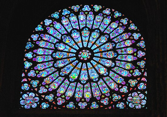 Rose Window Notre Dame by Tony Dempsey