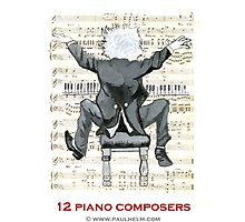 CLASSICAL MUSIC - 12 PIANO COMPOSERS by Paul Helm