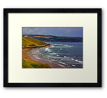 Whitby to Sandsend Framed Print