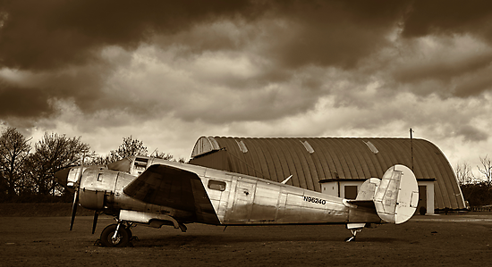 Beechcraft 18 Expeditor - II by Lea Valley Photographic