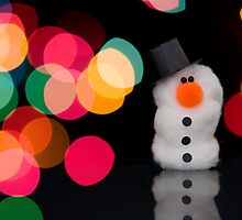 Lights, Camera, Snowman! II by Claire Hutton