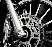 Chopper Wheel by Gary Paakkonen