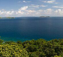Mamanuca Islands, Fiji. by Michael Treloar