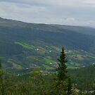 The Scandinavian Mountain Range by HELUA