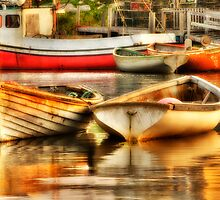 Morning Dories by Bruce Taylor