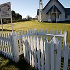 ruralscapes #80, morning at church by stickelsimages