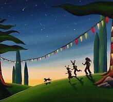 A Summery Christmas by Sarah  Mac