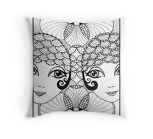 Showgirls Throw Pillow