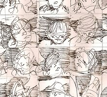 People 2   2darts,  by Ian Farnbach