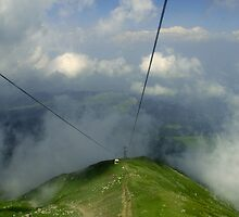 World's highest Cable Car  at Gulmarg. by RajeevKashyap
