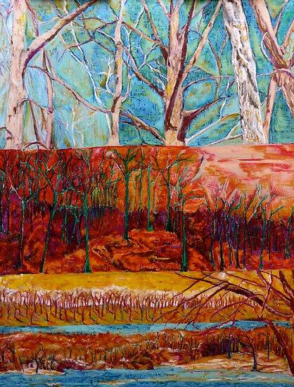 fall scene by moguesy