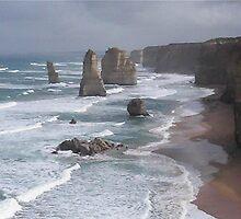 Twelve Apostles..Great Ocean Road..2 by glennmp