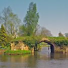 Medieval Bridge, River Avon by ChelseaBlue