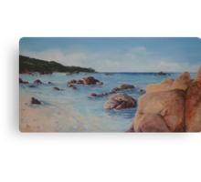 Waters Edge Bunker Bay Canvas Print