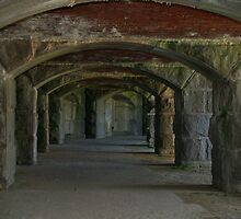 Fort Popham by Edyth Counter-Griffis