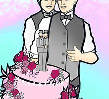 Gay wedding by Gavin Dobson