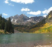 Maroon Bells by cecreations