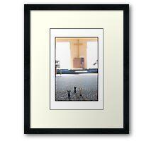 Nuns Praying Framed Print