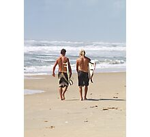 Surfer Buds Photographic Print