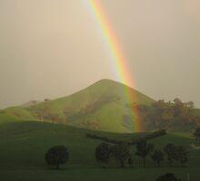 Strath creek rainbow by Luke Donegan