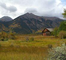 Twin Lakes Barn by Bob Spath