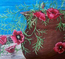 Poppies Contained by Karirose