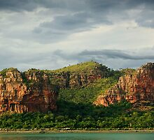 Hunter River Entrance, W. Australia by Tim Wootton