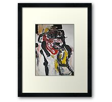 stevie three Framed Print