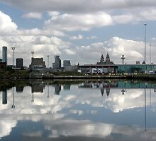 Birkenhead Dock Reflections by stebird
