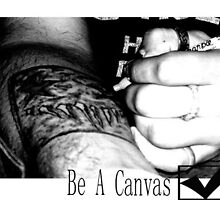 Bucket List 2: Be A Canvas by J.M. Romig
