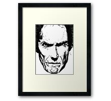 Clint Eastwood Framed Print
