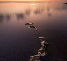 Lake Superior, Sunrise. by Michael Treloar
