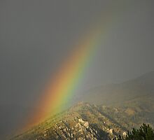 Rainbow in Alpine, Utah by Ryan Houston