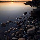 Leech Lake, Sunrise. by Michael Treloar